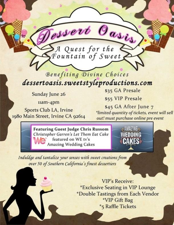 Dessert Oasis Invitation