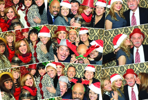 Christmas Party Photo Booth Photo Strips